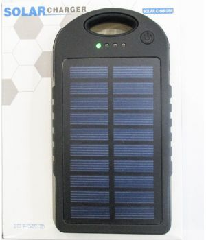 авербанк с солнечной батареей Powerbank Solar 45000 mah LED